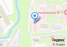 Компания «Отделенческая больница на ст. Тула» на карте