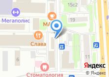 Компания «Адриа» на карте