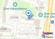 Компания «Комаров» на карте