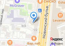 Компания «Новинский» на карте