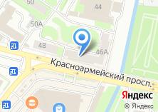 Компания «Техносеть» на карте