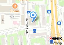 Компания «СШОР №25» на карте