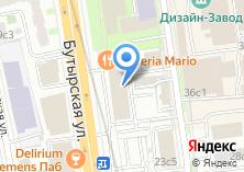 Компания «АКБ Инвестторгбанк» на карте