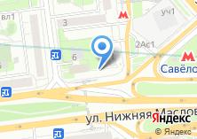 Компания «Магазин продуктов на Нижней Масловке» на карте