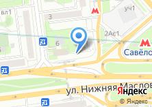 Компания «Кулинария на Нижней Масловке» на карте