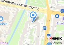 Компания «Привокзальный» на карте