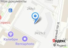 Компания «MaxiPost» на карте