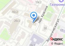 Компания «ОПОП Центрального административного округа Пресненский район» на карте