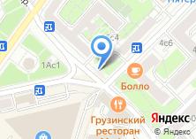 Компания «Цветочный магазин на Тишинской площади» на карте