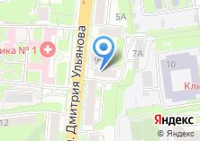 Компания «Юлия-Недвижимость» на карте
