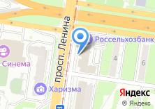 Компания «Мон-Плезир» на карте