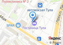 Компания «Принт-Тула» на карте
