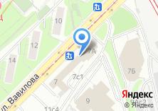 Компания «Профессорская гостиница» на карте