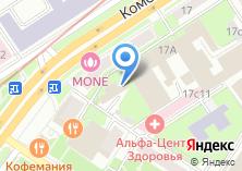 Компания «МФИ Софт» на карте