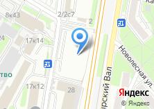 Компания «Автодаръ» на карте