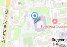 Компания «ИЭУ» на карте
