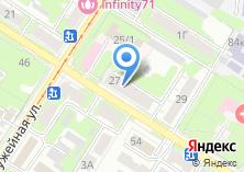 Компания «Бюро юридических услуг» на карте