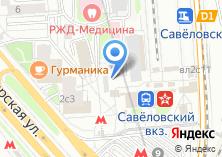 Компания «АКБ Бенифит-Банк» на карте