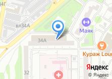 Компания «Скорость» на карте