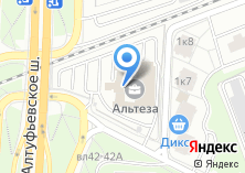 Компания «ТанКос-электропроект» на карте