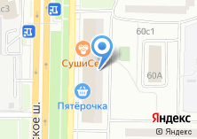 Компания «Мастерская по сервисному обслуживанию оргтехники» на карте