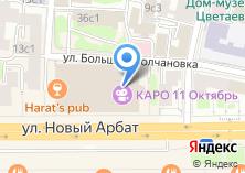 Компания «КАРО ФИЛЬМ» на карте