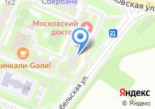 Компания «Московский доктор» на карте