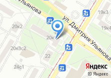 Компания «Кулинар» на карте