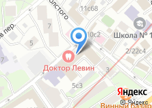 Компания «Содействие Развитию Взаимного Кредитования СРВК» на карте