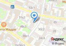 Компания «Московский Нефтехимический банк» на карте