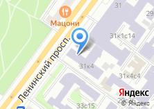 Компания «ИФХЭ РАН» на карте