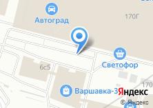 Компания «Магазин автокрасок и автохимии» на карте