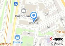 Компания «Текнос» на карте
