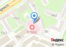Компания «ЛДЦ» на карте