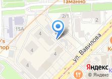 Компания «Шиномонтажная мастерская на ул. Вавилова» на карте