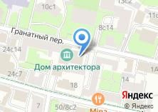 Компания «Союз московских архитекторов» на карте