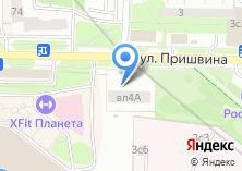 Компания «Шиномонтажная мастерская на Пришвина» на карте