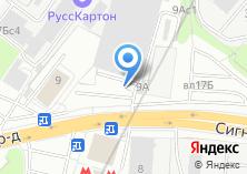 Компания «АвтоКАСКО» на карте