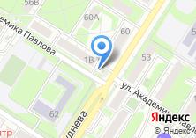Компания «Магазин овощей и фруктов на ул. Николая Руднева» на карте