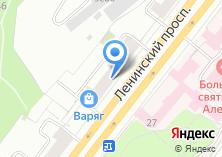Компания «Pandora» на карте