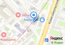 Компания «Общежитие МГЛУ» на карте
