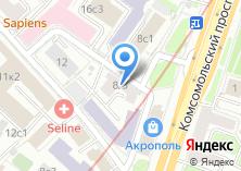 Компания «Туристские ресурсы России» на карте
