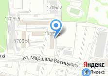 Компания «Еда Домашняя» на карте