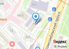 Компания «Интеробразование» на карте