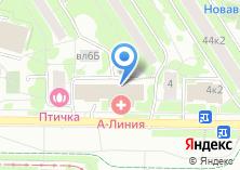 Компания «Магазин цветов на Академика Янгеля» на карте