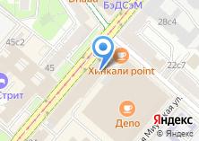 Компания «Ок-кафе» на карте