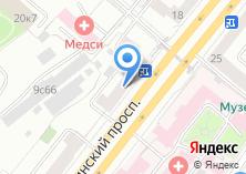 Компания «*графика*» на карте
