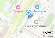 Компания «Хозпромтекс» на карте