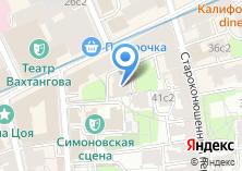Компания «Арбат-Сервис» на карте