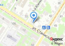 Компания «Магазин детской одежды и канцелярских товаров на ул. Станиславского» на карте